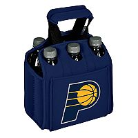 Picnic Time Indiana Pacers Six Pack Insulated Beverage Carrier