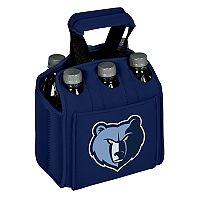 Picnic Time Memphis Grizzlies Six Pack Insulated Beverage Carrier