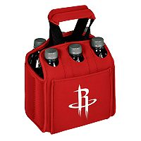 Picnic Time Houston Rockets Six Pack Insulated Beverage Carrier