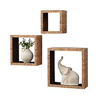 Neu Home 3-pack Cork Wall Cubes