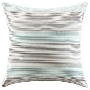 Madison Park Signature Cadence Striped Embroidered Throw Pillow