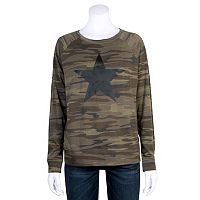 Juniors' Grayson Threads Camouflage Graphic Sweatshirt