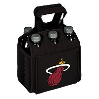 Picnic Time Miami Heat Six Pack Insulated Beverage Carrier
