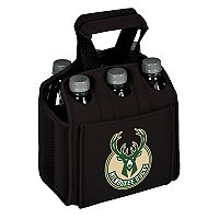 Picnic Time Milwaukee Bucks Six Pack Insulated Beverage Carrier
