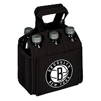 Picnic Time Brooklyn Nets Six Pack Insulated Beverage Carrier