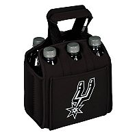 Picnic Time San Antonio Spurs Six Pack Insulated Beverage Carrier