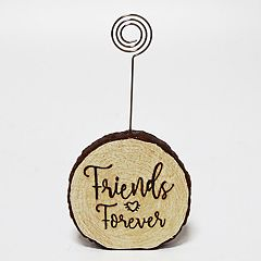 New View 'Friends' Faux Wood Photo Clip