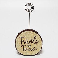 New View 'Friends' Faux Wood Photo Clip