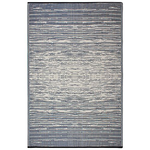 Fab Habitat World Brooklyn Abstract Reversible Indoor Outdoor Rug