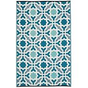 Fab Habitat World Seville Geometric Reversible Indoor Outdoor Rug