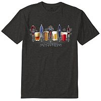 Men's Newport Blue Beer Tee
