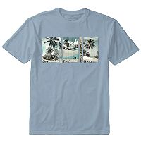 Men's Newport Blue Graphic Tee