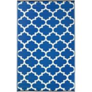 Fab Habitat World Tangier Trellis I Reversible Indoor Outdoor Rug