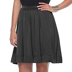 Women's Apt. 9® Shirred Satin Skirt