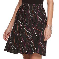 Women's Apt. 9® Shirred Satin Skirt