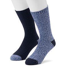 Men's Climatesmart 2-pack Twist Ribbed Crew Socks