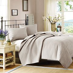 Hampton Hill Velvet Touch Coverlet Set
