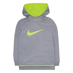 Toddler Girl Nike Therma-FIT Silicone 'Just Do It' High-Low Hoodie