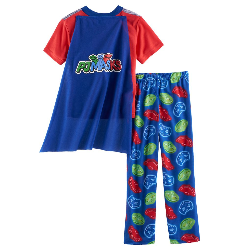 Boys 4-8 PJ Masks 3-Piece Pajama Set