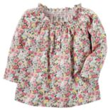 Baby Girl Carter's Floral Smocked Tunic