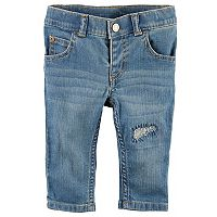 Baby Girl Carter's Distressed Denim Jeans