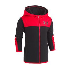 Toddler Boy Under Armour Colorblock Red Lightweight Jacket