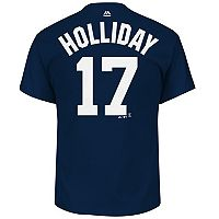 Men's Majestic New York Yankees Matt Holliday Player Name and Number Tee