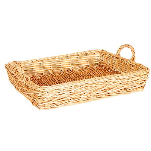 Household Essentials Spring Bird Nest Willow Tray