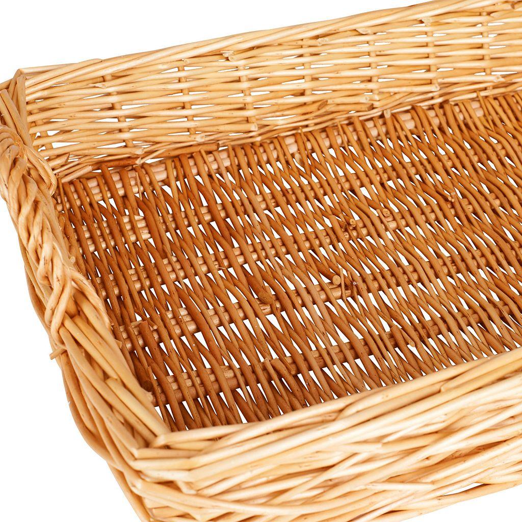 Household Essentials Spring Bird Nest Willow Tray