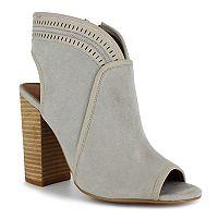 Dolce by Mojo Moxy Mason Women's Peep Toe Ankle Boots