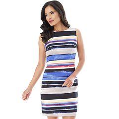 Women's AB Studio Print Sheath Dress