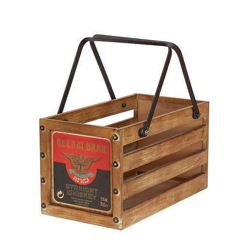 Household Essentials Small Wooden Crate
