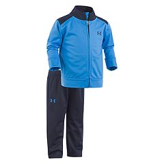 Baby Boy Under Armour Base Camp Mockneck Jacket & Pants Set