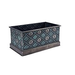 Household Essentials Chelsea Metal Storage Box