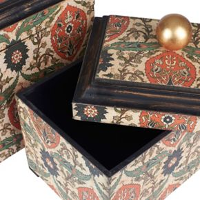 Household Essentials 2-piece Vintage Keepsake Box Set