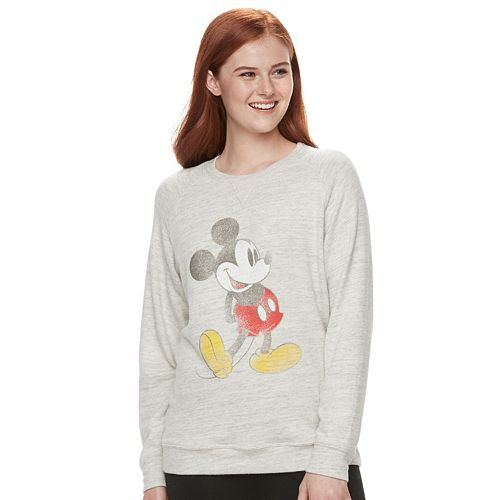 Disney's Mickey Mouse Juniors' Graphic Long Sleeve Tee