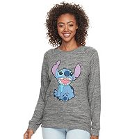 Disney's Lilo and Stitch Juniors' Stitch Sits Sweatshirt