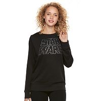 Juniors' Star Wars Logo Graphic Sweatshirt