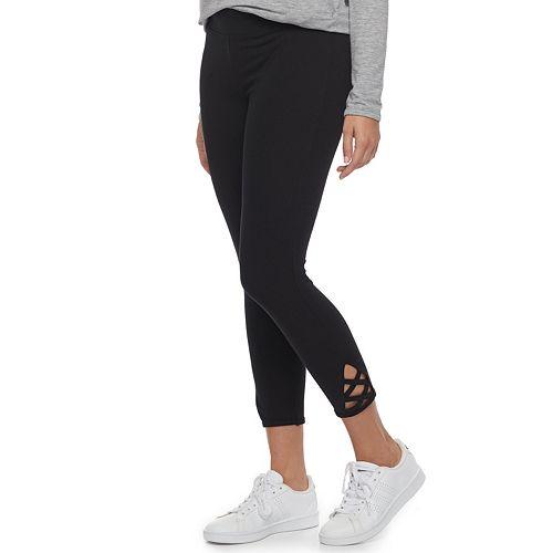fb162af948738 Women's SONOMA Goods for Life™ Crisscross Capri Leggings