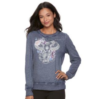Juniors' Fifth Sun Hamsa Elephant Graphic Sweatshirt