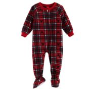 Disney's Mickey Mouse Baby Plaid Microfleece Footed Pajamas by Jammies For Your Families