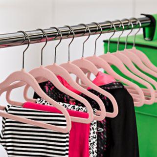 Kids Honey-Can-Do 60-pack Velvet Touch Hangers