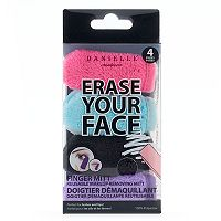 Danielle Creations Erase Your Face 4-pk. Reusable Makeup Removing Mitt