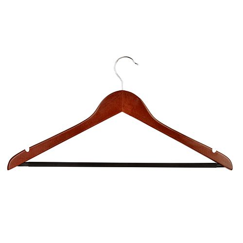 Honey-Can-Do 8-pack Basic Suit Hangers