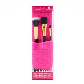 Danielle Creations Makeup Brush & Cleaning Mat Set