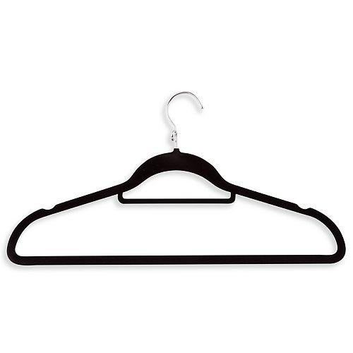 Honey-Can-Do 18-pack Velvet Touch Cascading Suit Hangers