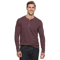 Big & Tall SONOMA Goods for Life™ Classic-Fit Garment-Dyed Henley