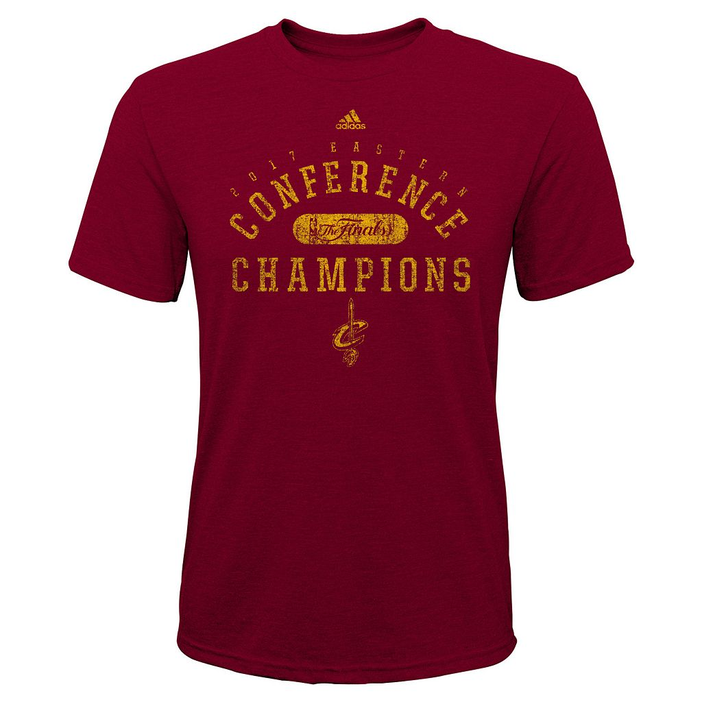 Boys 8-20 Cleveland Cavaliers 2017 Conference Champions Retro Tee