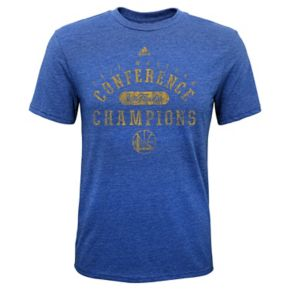 Boys 8-20 Golden State Warriors 2017 Conference Champions Retro Tee