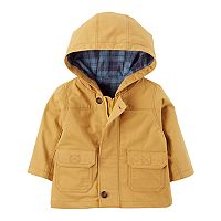 Baby Boy Carter's Hooded Twill Jacket